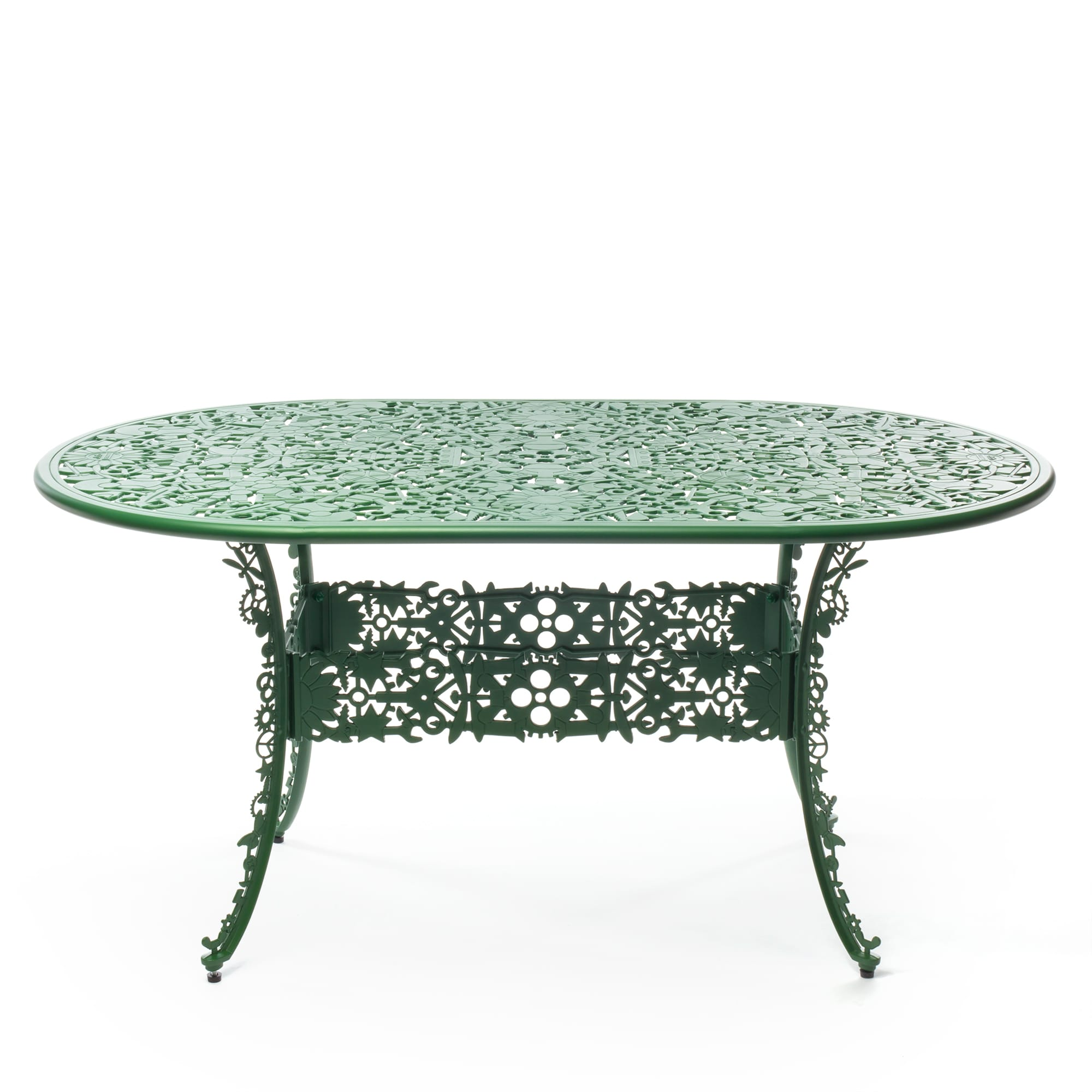 Oval Table Seletti Industry Collection Green