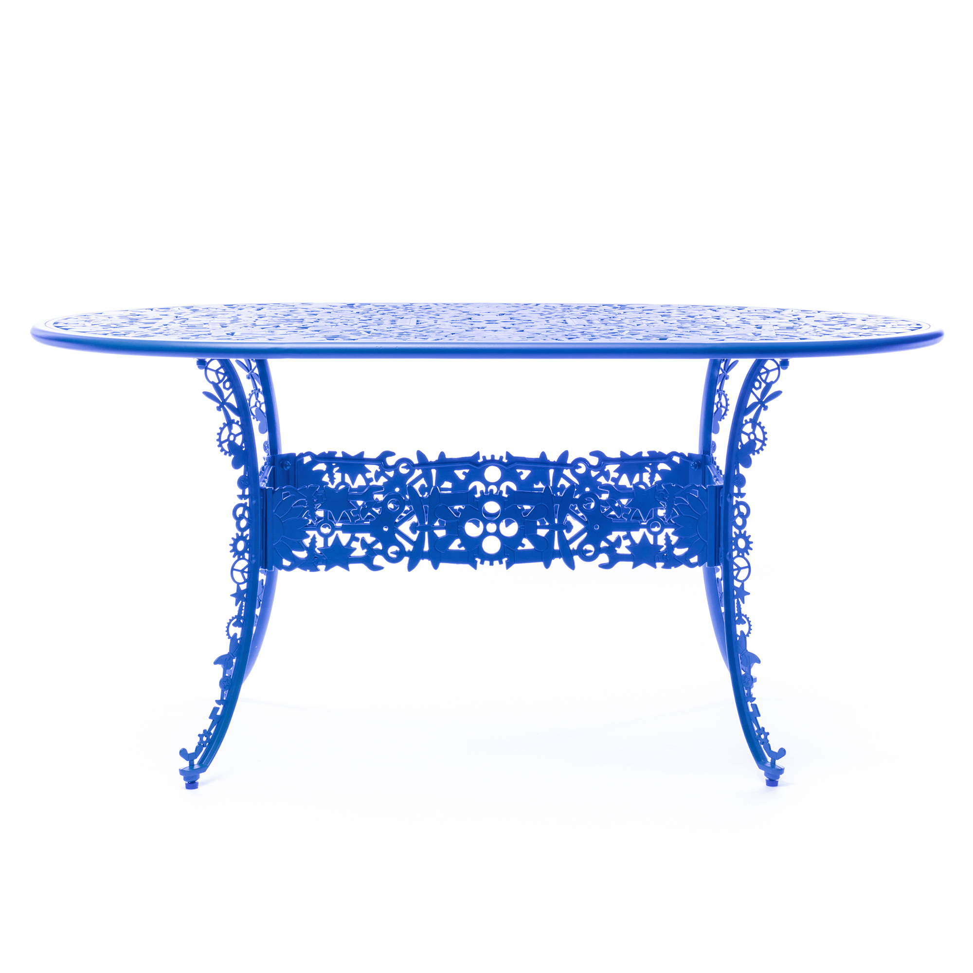 Oval Table Seletti Industry Collection Sky Blue