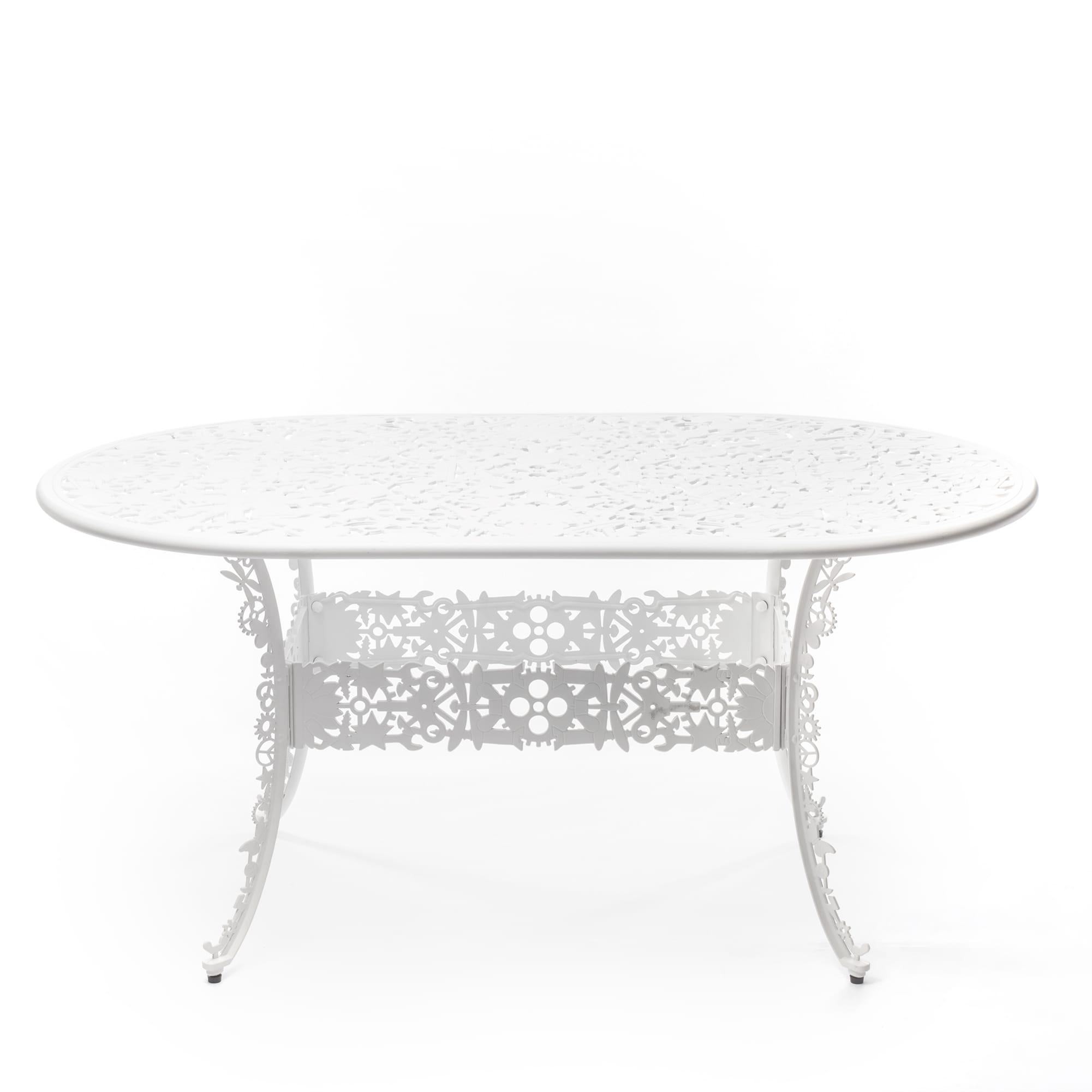 Oval Table Seletti Industry Collection White