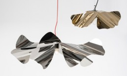 Papavero Raggiante Stainless Steel Large and Gold Small