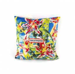 Pillow Seletti Flowers with Holes Back