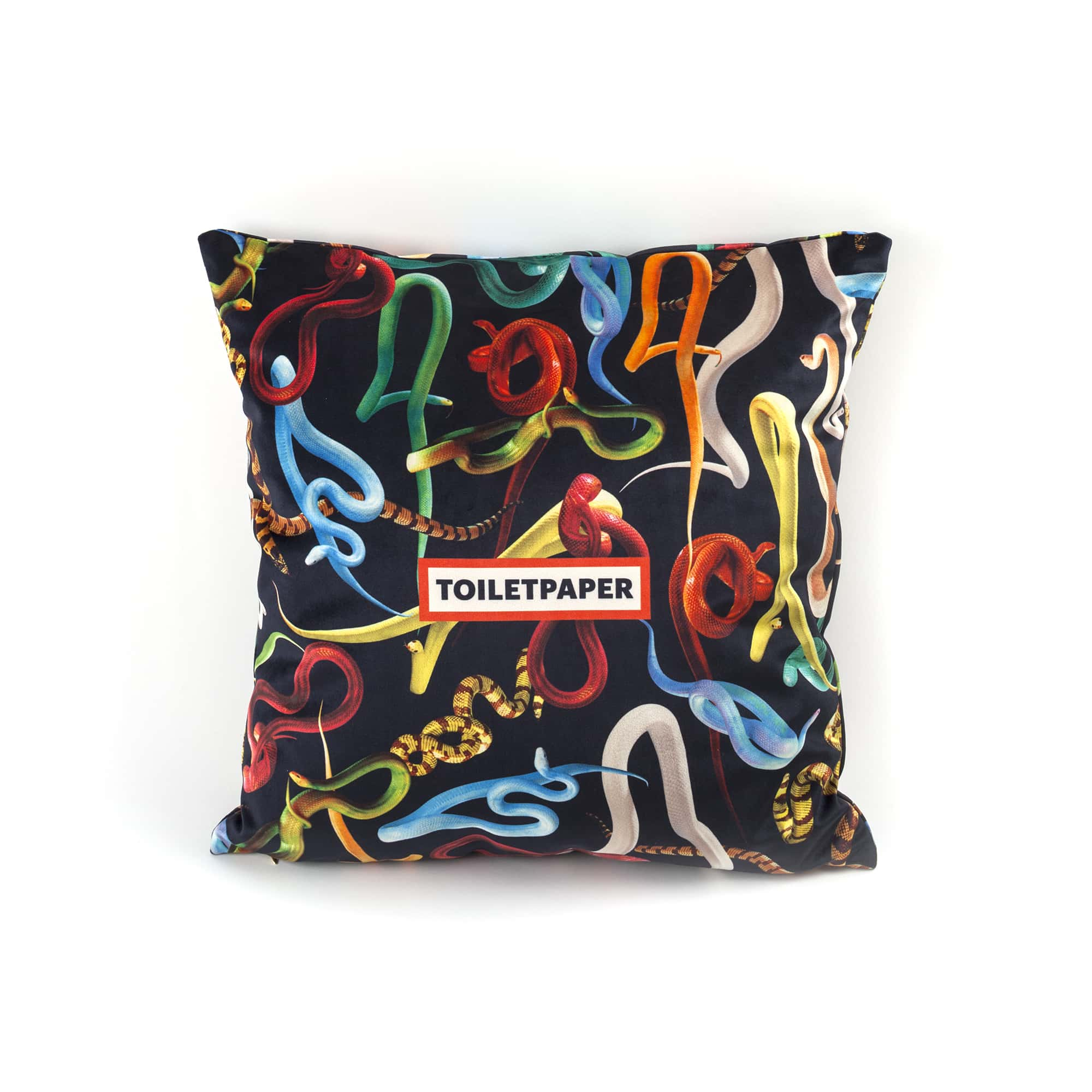 Pillow Seletti Snakes with Logo