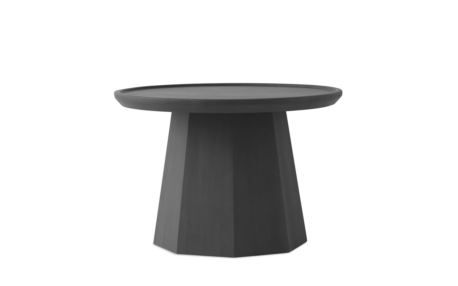 Pine Table Large dark Grey