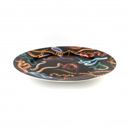 Plate Seletti Snakes Racurs