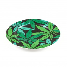 Porcelain Plate Seletti Weed Racurs