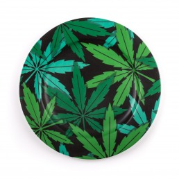 Porcelain Plate Seletti Weed