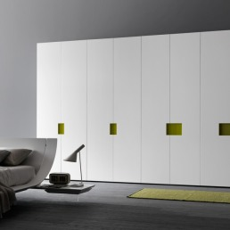 Presotto Alibi Wardrobe White and Green