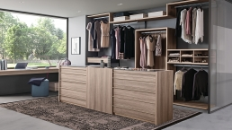 Presotto Atollo Free–Standing Drawer Unit Wood