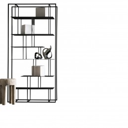 Presotto Bookcase Tower freestanding 1