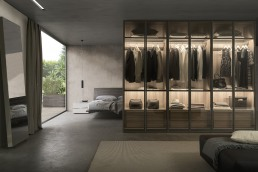 Presotto Framed Glass Door