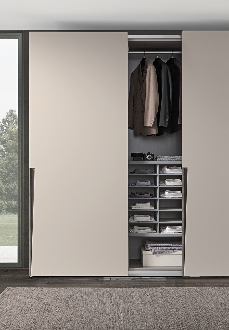 Presotto Jive Wardrobe Open