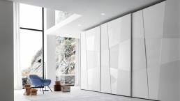 Presotto Shape Wardrobe White
