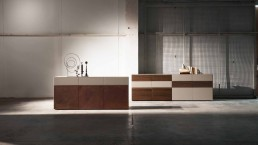 Presotto Sideboard Imodulart Cor ten Design