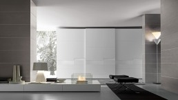 Presotto Split Wardrobe White