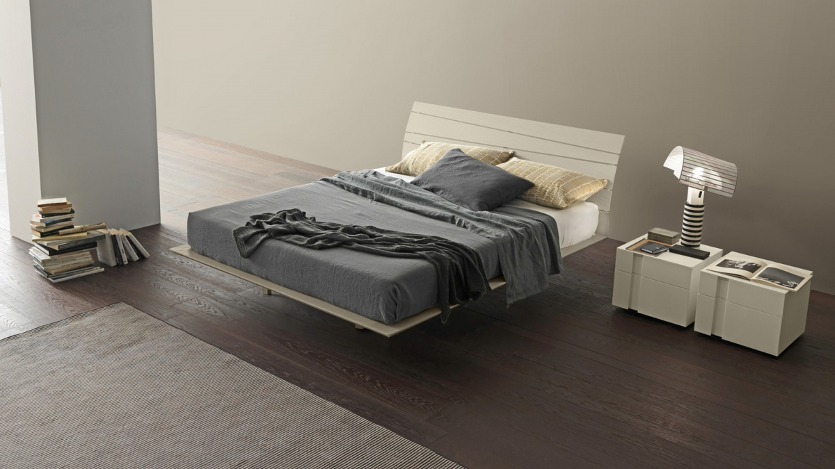 Presotto Tango Wood Bed racurs