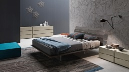 Presotto Tango Wood Bed