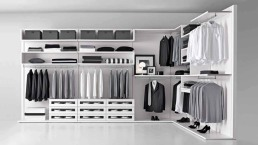 Presotto Varius Walk in Closet White