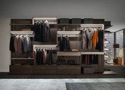 Presotto Varius Walk in Closet Wood Light
