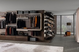 Presotto Varius Walk in Closet Wood