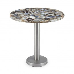 Round Side Table Abhika Agate