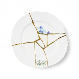 Seletti Art de la table Marcantonio Kintsugi Large Blue