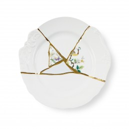 Seletti Art de la table Marcantonio Kintsugi Large Green