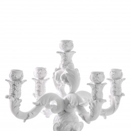 Seletti Candle Holder Chimp White Detail 1