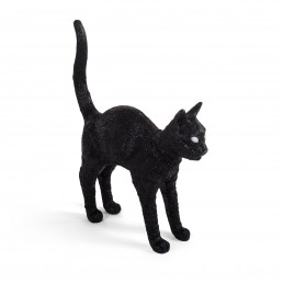 Seletti Lamp Jobby The Cat Black Racurs
