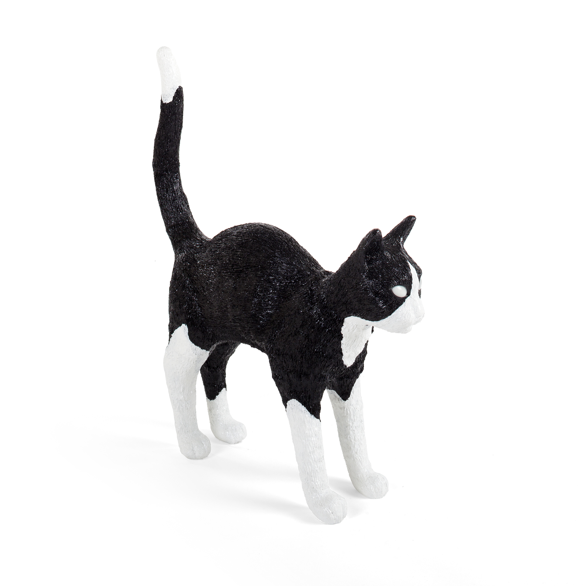 Seletti Lamp Jobby The Cat Black White Racurs