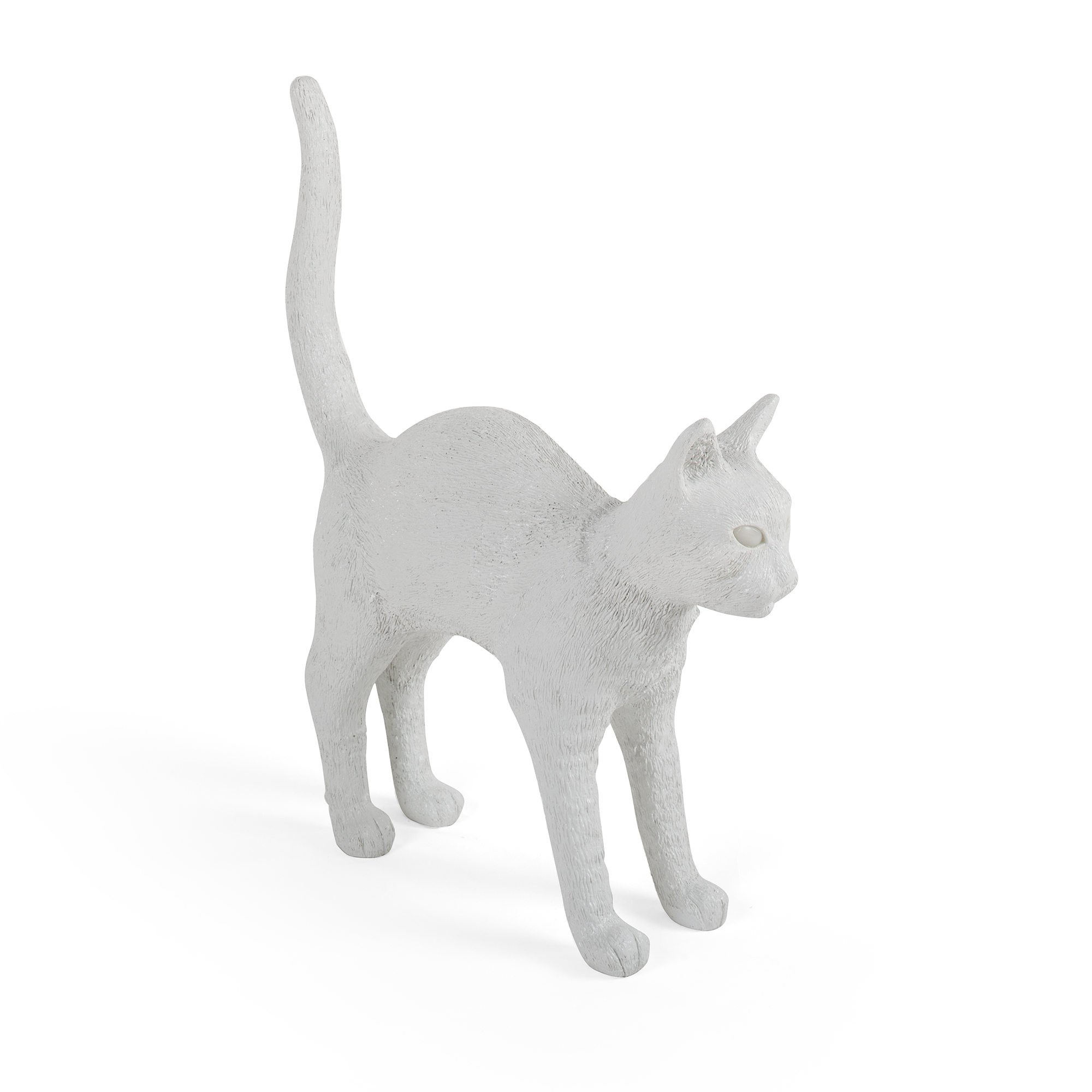 Seletti Lamp Jobby The Cat White Racurs