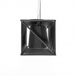 Seletti Line Lamp Multilamp Black Detail