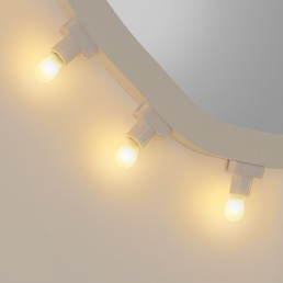 Seletti Mirror Luminaire Regular Detail