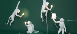 Seletti Monkey White