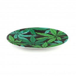 Seletti Porcelain Plate Weed Racurs