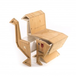 Seletti Wooden Furniture Goose Open