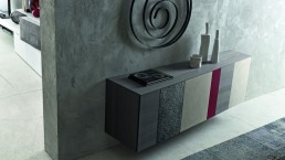 Sideboard Inclinart Basalto
