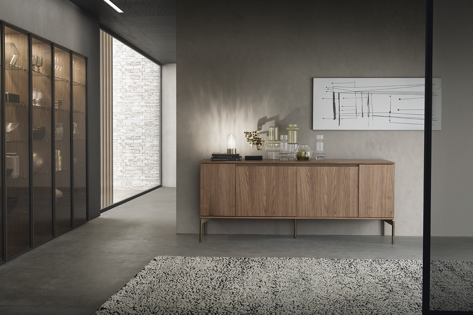 Living collection sideboard presotto hug frnshx for Www presotto it