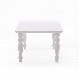Small Table Square Seletti Heritage White