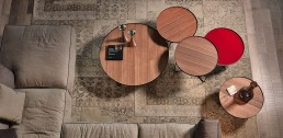 Small table Cattelan Italia Billy Wood NC Collection