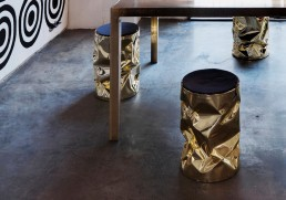Stool Opinion Ciatti Gold Big