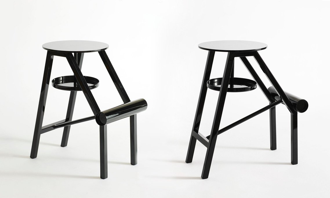 Stool Opinion Ciatti Shoe Black