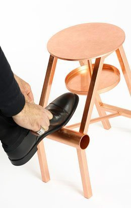 Stool Opinion Ciatti Shoe Copper Leaf