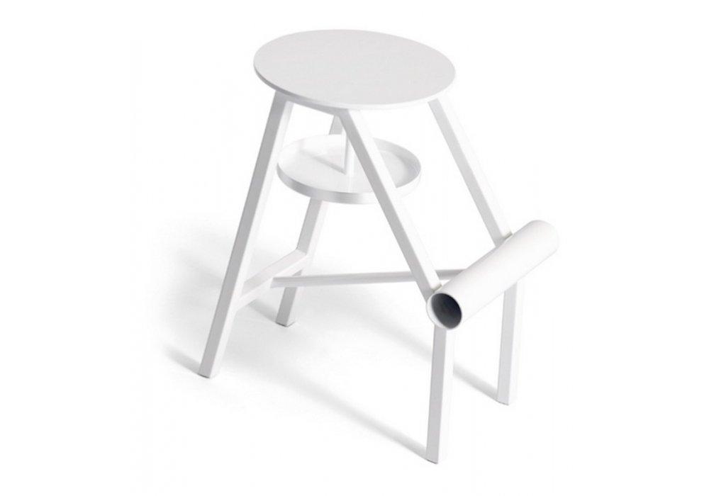 Stool Opinion Ciatti Shoe White
