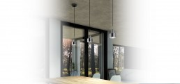 Suspension Light Axolight Aura Silver