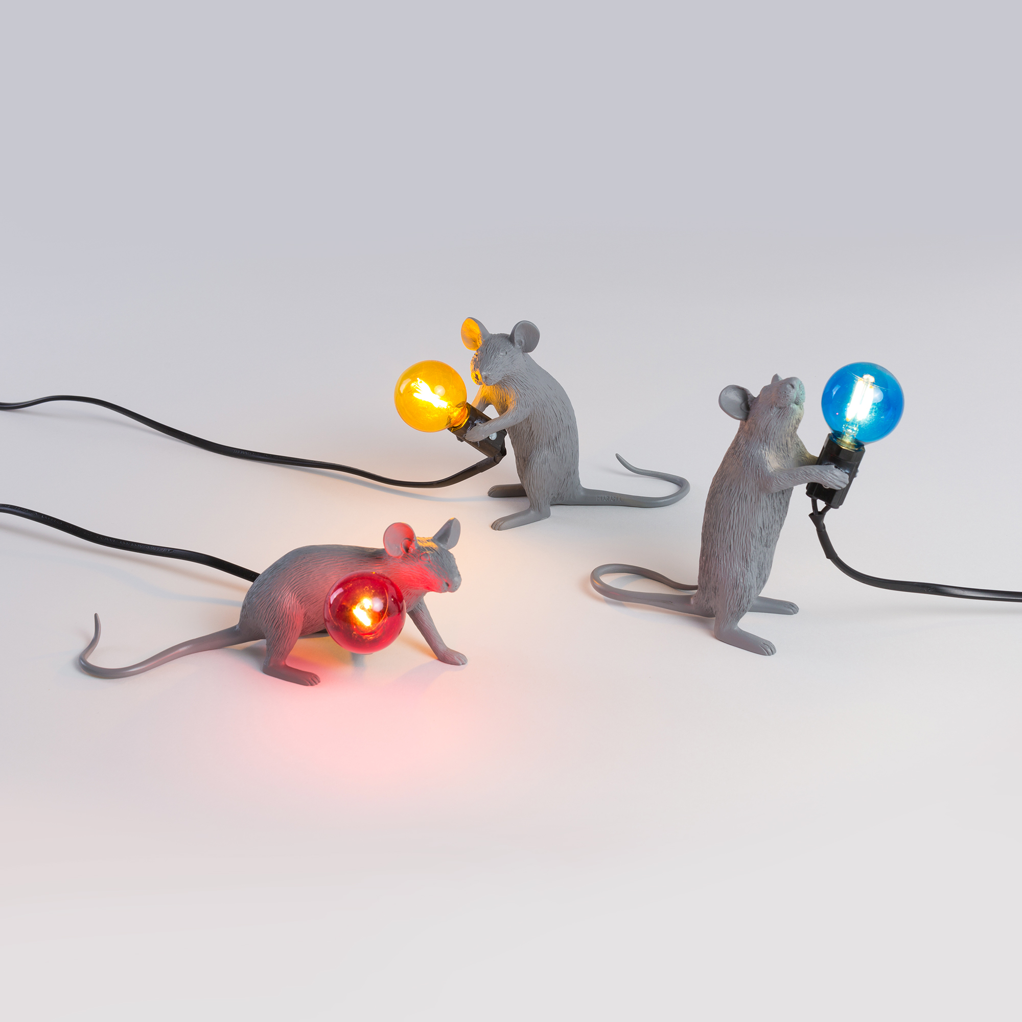 Table Lamp Seletti Mouse Collection