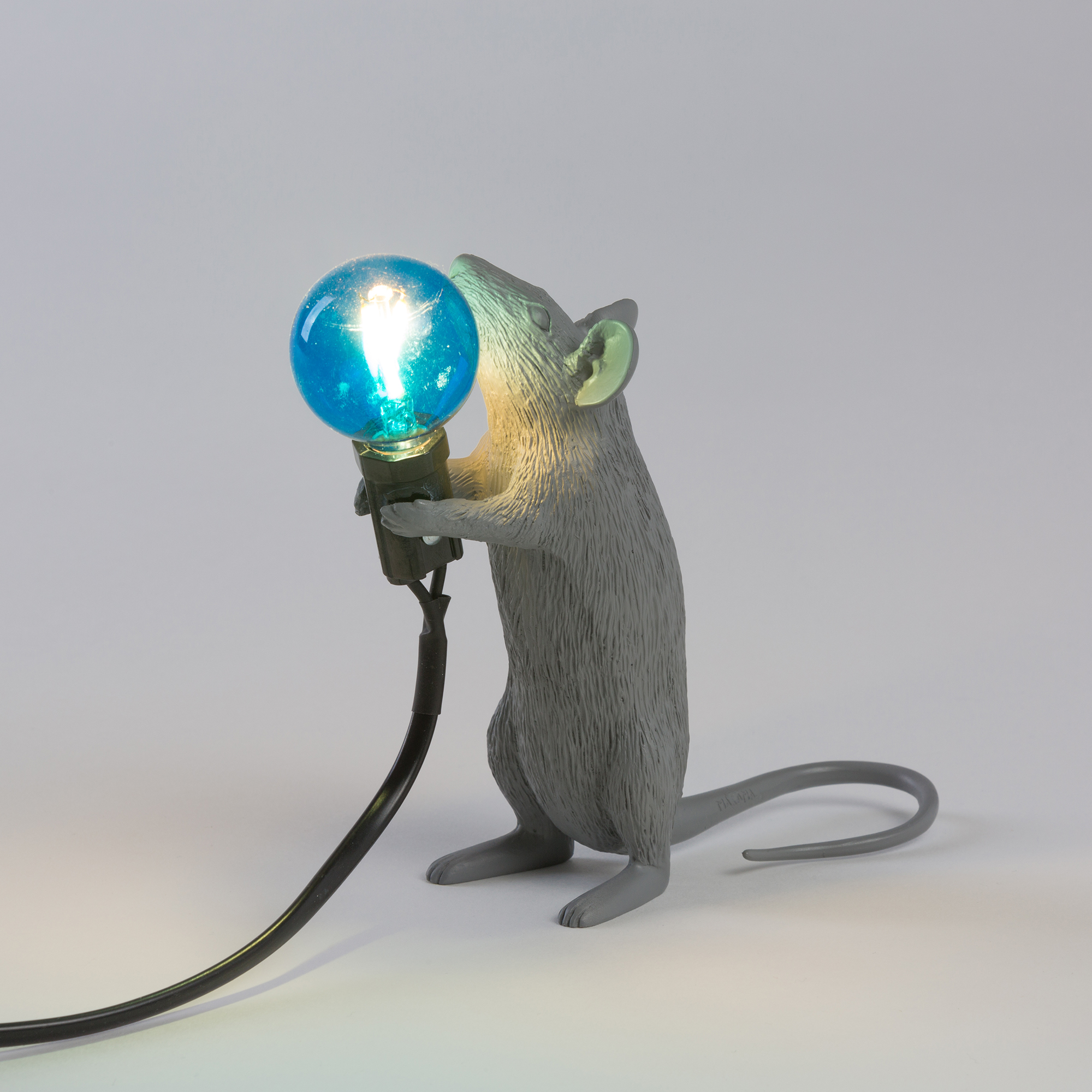 Table Lamp Seletti Mouse Step Face Interior