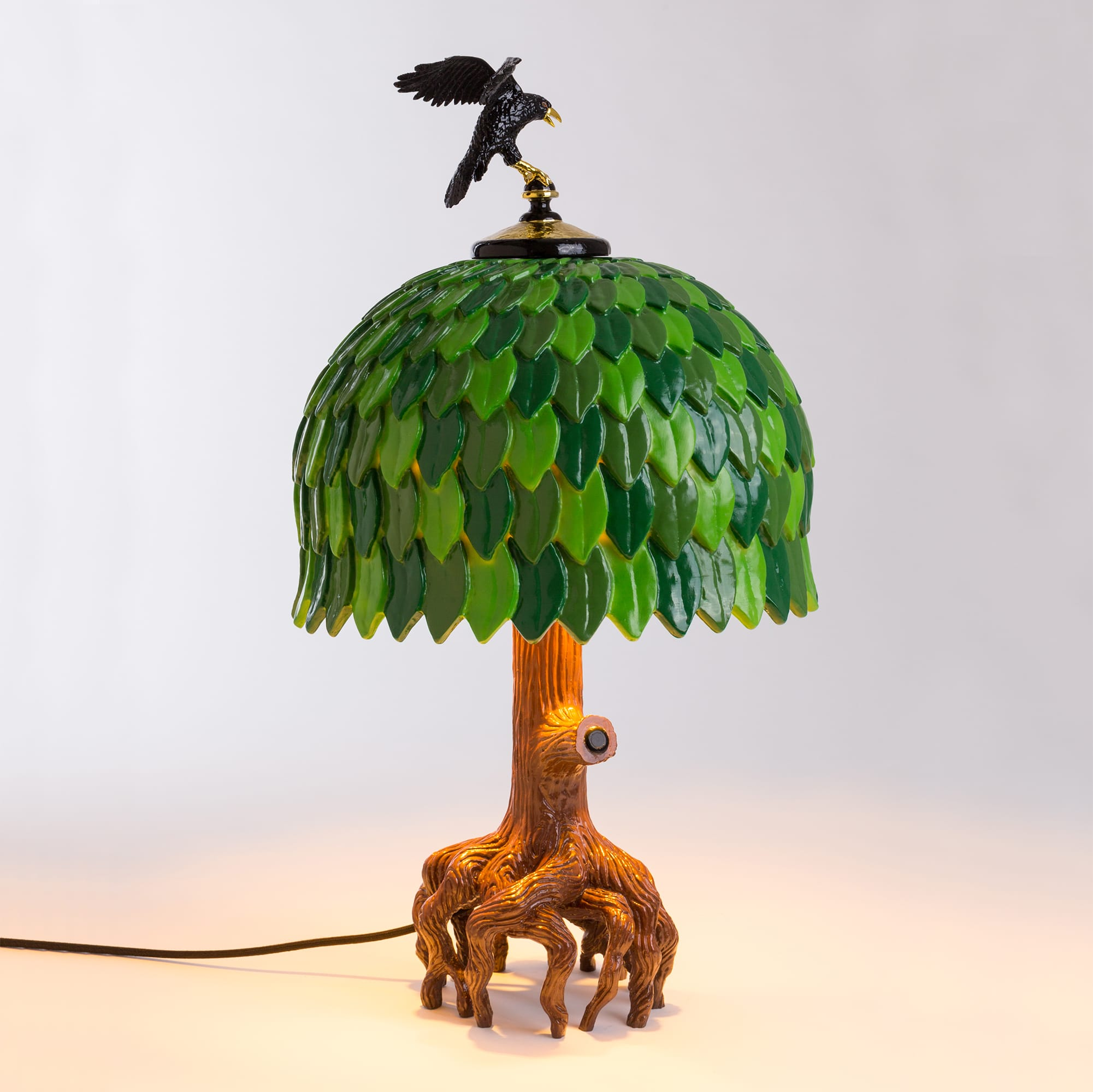 Table Lamp Seletti Tiffany Tree Interior Design