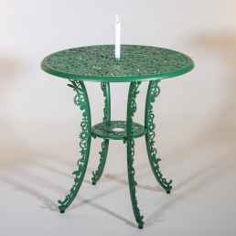 Table Seletti Industry Collection Green With Candle