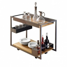 Trolley Bar cattelan Italia Mojito Wood