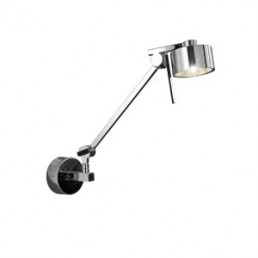 Wall Lamp Axolight Aura Silver 1